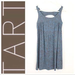 Tart | Dress Racer Back print Gray